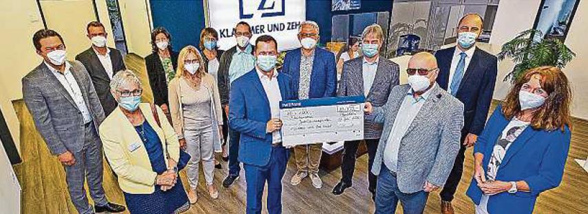 Zehn Institutionen mit je 1000 Euro bedacht